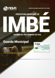 Apostila Prefeitura de Imbé - RS - Guarda Municipal