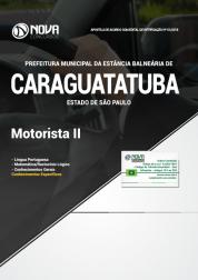 Download Apostila Prefeitura de Caraguatatuba - SP - Motorista II (PDF)