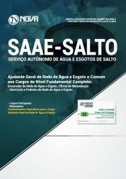 Apostila SAAE de Salto - SP - Comum aos Cargos de Nível Fundamental Completo