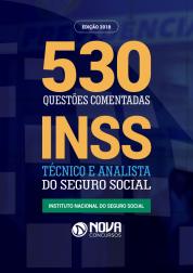 Ebook de Questões Comentadas INSS - Técnico e Analista do Seguro Social (PDF)