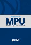 Mapas Mentais MPU - Disposições Gerais (PDF)