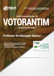 Apostila Prefeitura de Votorantim - SP - Professor de Educação Básica I