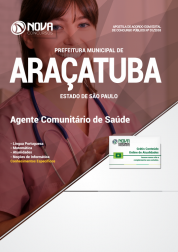 Apostila Prefeitura de Araçatuba - SP - Agente Comunitário de Saúde