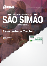 Download Apostila Prefeitura de São Simão - GO - Assistente de Creche (PDF)