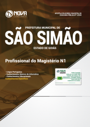 Download Apostila Prefeitura de São Simão - GO - Profissional do Magistério N1 (PDF)