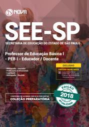 Download Apostila SEE-SP - PEB I - Educador Docente (PDF)