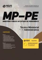 Apostila MP-PE - Técnico Ministerial - Administrativa