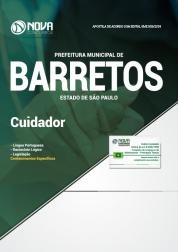 Apostila Prefeitura de Barretos - SP - Cuidador