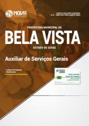 Apostila Prefeitura de Bela Vista - GO - Auxiliar de Serviços Gerais