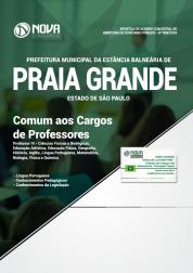 Apostila Prefeitura de Praia Grande - SP - Comum aos Cargos de Professores