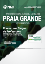 Download Apostila Prefeitura de Praia Grande - SP - Comum aos Cargos de Professores (PDF)