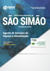 Apostila Prefeitura de São Simão - GO - Agente de Serviços de Higiene e Alimentação