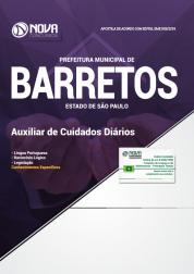 Apostila Prefeitura de Barretos - SP - Auxiliar de Cuidados Diários