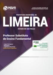 Apostila Prefeitura de Limeira - SP - Professor Substituto de Ensino Fundamental