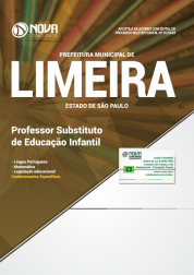 Apostila Prefeitura de Limeira - SP - Professor Substituto de Educação Infantil