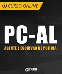 Curso Online PC-AL - Agente e Escrivão de Polícia