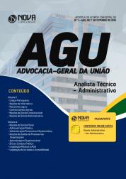 Apostila AGU - Analista Técnico-Administrativo