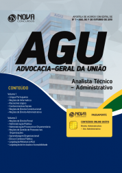 Download Apostila AGU - Analista Técnico-Administrativo (PDF)