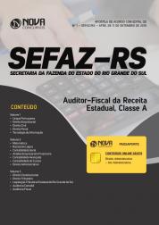 Download Apostila SEFAZ-RS - Auditor-Fiscal da Receita Estadual, Classe A (PDF)