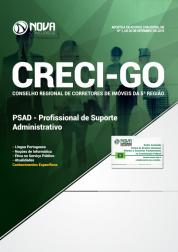 Download Apostila CRECI-GO (5ª Região) - Profissional de Suporte Administrativo (PSAD) (PDF)
