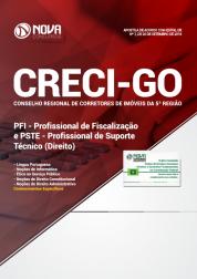Apostila CRECI-GO (5ª Região) - PFI - Profissional de Fiscalização e PSTE - Profissional de Suporte Técnico (Direito)