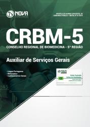 Download Apostila CRBM 5ª Região - Auxiliar de Serviços Gerais (PDF)