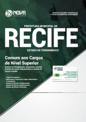 Download Apostila Prefeitura do Recife - PE - Comum aos Cargos de Nível Superior (PDF)