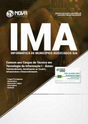 Download Apostila IMA de Campinas - SP - Comum aos Cargos de Técnico em Tecnologia da Informação I (PDF)