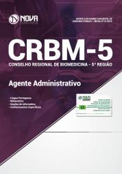 Download Apostila CRBM 5ª Região - Agente Administrativo (PDF)