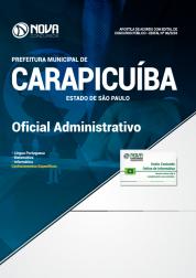Download Apostila Prefeitura de Carapicuíba - SP - Oficial Administrativo (PDF)