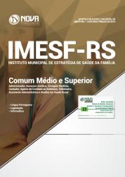 Apostila IMESF-RS - Comum aos Cargos de Nível Médio e Superior