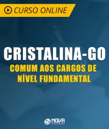 Curso Online Prefeitura de Cristalina - GO - Comum aos Cargos de Nível Fundamental