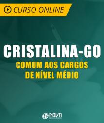 Curso Online Prefeitura de Cristalina - GO - Comum aos Cargos de Nível Médio