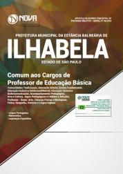 Download Apostila Prefeitura de Ilhabela - SP - Comum aos Cargos de Professor de Educação Básica (PDF)