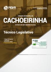 Download Apostila Câmara de Cachoeirinha - RS - Técnico Legislativo (PDF)