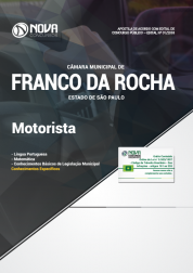 Download Apostila Câmara de Franco da Rocha - SP - Motorista (PDF)