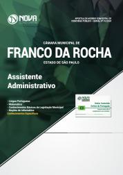 Download Apostila Câmara de Franco da Rocha - SP - Assistente Administrativo (PDF)