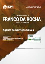 Apostila Câmara de Franco da Rocha - SP - Agente de Serviços Gerais