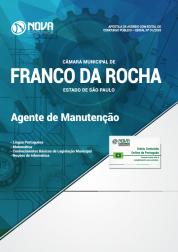 Apostila Câmara de Franco da Rocha - SP - Agente de Manutenção