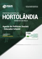 Apostila Prefeitura de Hortolândia - SP - Agente de Políticas Sociais - Educador Infantil