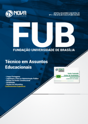 Apostila FUB-DF - Técnico em Assuntos Educacionais