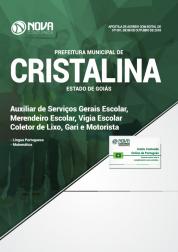 Download Apostila Prefeitura de Cristalina - GO - Nível Fundamental (PDF)