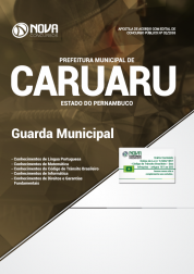 Download Apostila Prefeitura de Caruaru - PE - Guarda Municipal (PDF)
