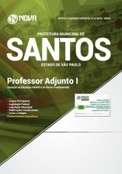 Apostila Prefeitura de Santos - SP - Professor Adjunto I