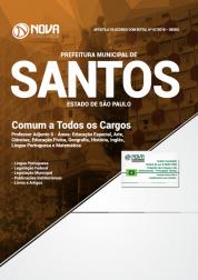 Apostila Prefeitura de Santos - SP - Comum a Todos os Cargos