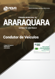 Apostila Câmara de Araraquara - SP - Condutor de Veículos