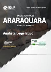 Apostila Câmara de Araraquara - SP - Analista Legislativo