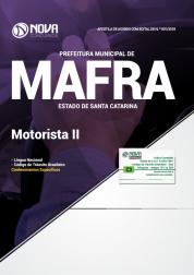 Download Apostila Prefeitura de Mafra - SC - Motorista II (PDF)