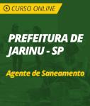 Curso Online Prefeitura de Jarinu - SP - Agente de Saneamento