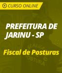 Curso Online Prefeitura de Jarinu - SP - Fiscal de Posturas